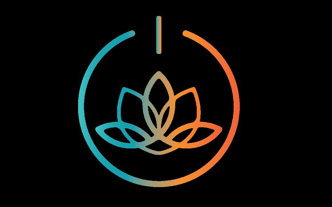 new modern yoga teacher logo bg